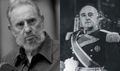 Fidel Castro Ruz (izq) y Rafael Leónidas Trujillo (der)